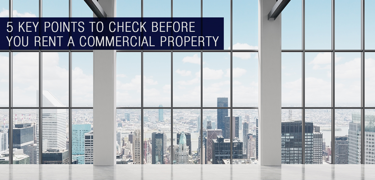 Renting a Commercial Property