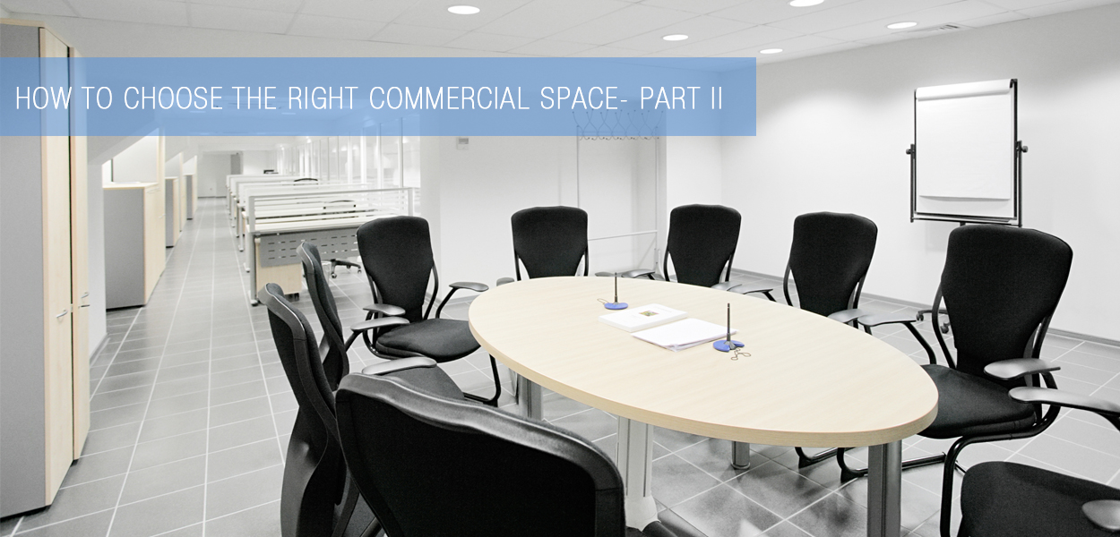 choosing right commercial space - part2