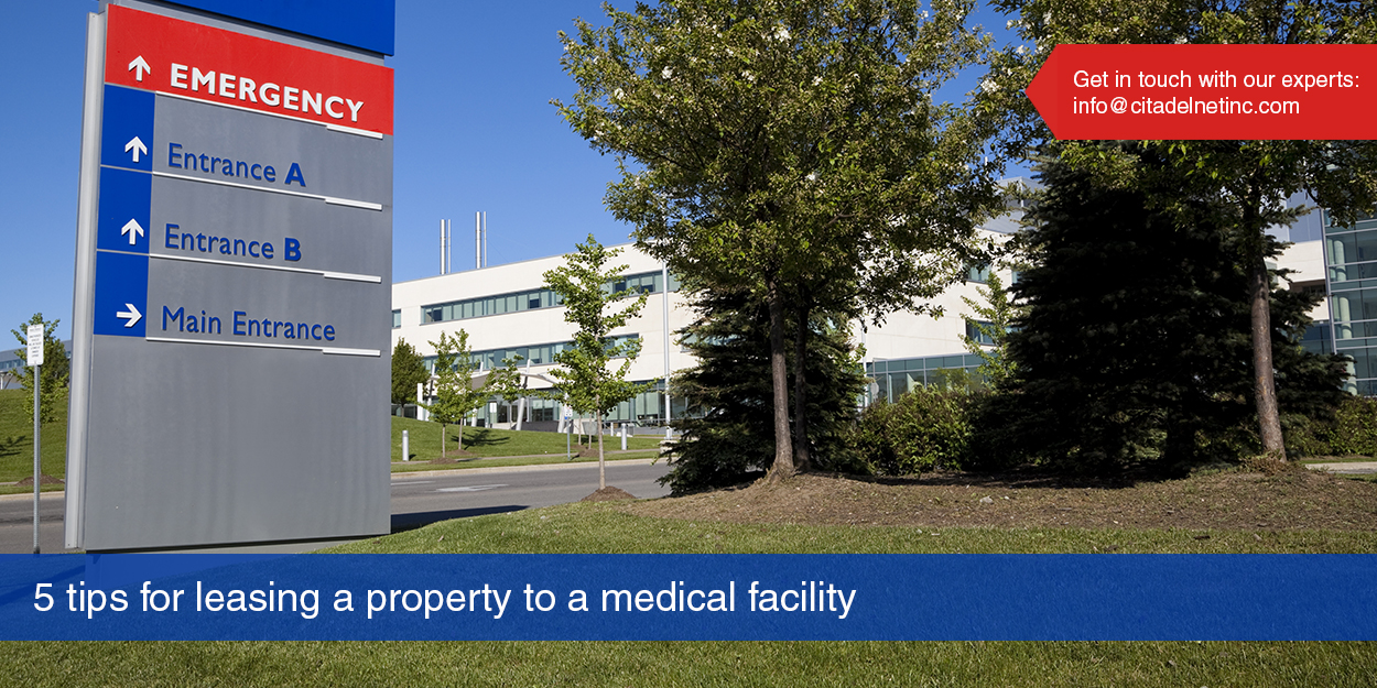 5 Tips for Leasing Commercial Property to a Medical Clinic or Hospital