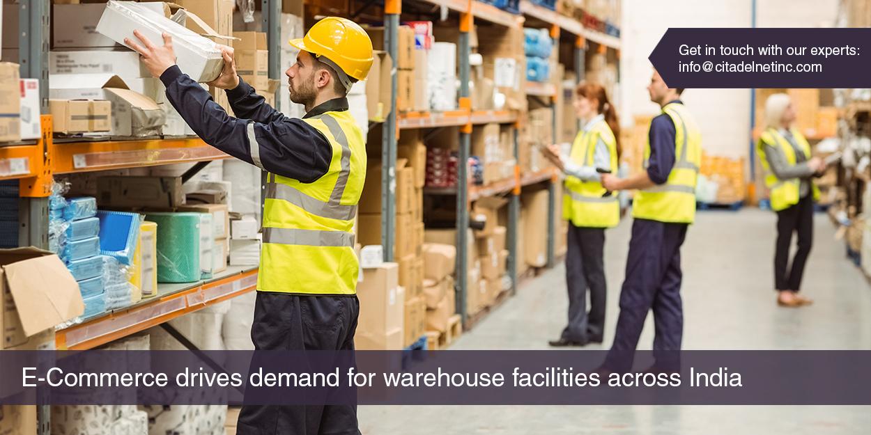 E-Commerce Drives Demand for Warehouse Facilities across India