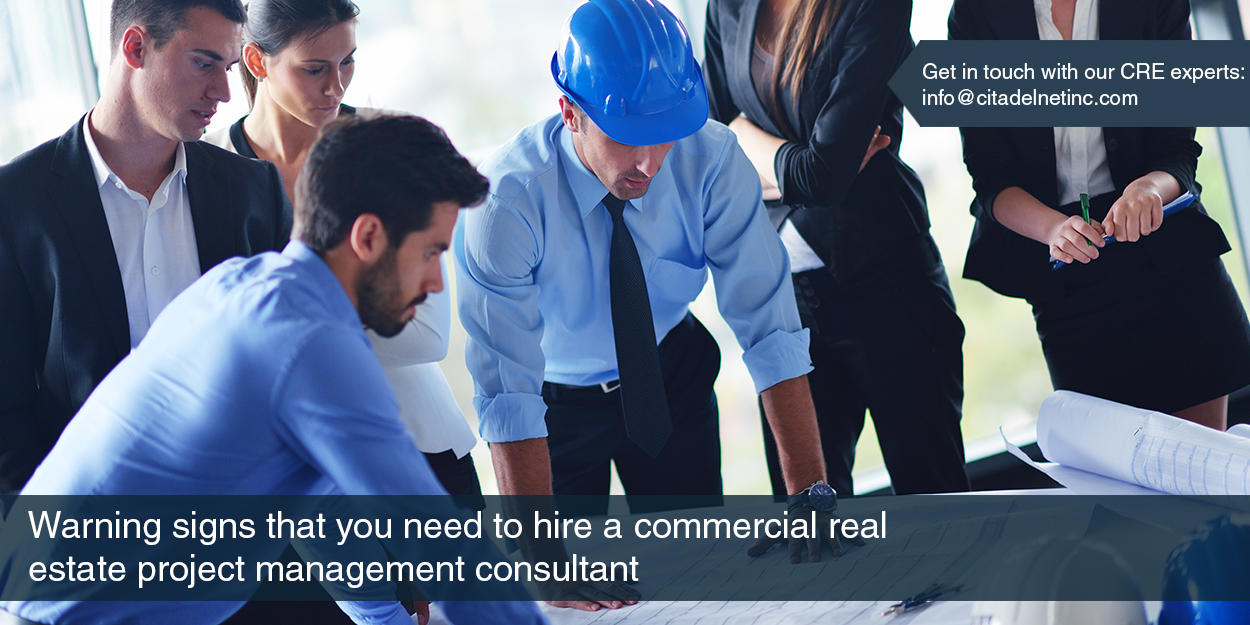 Hire a Commercial Real Estate Project Management Consultant