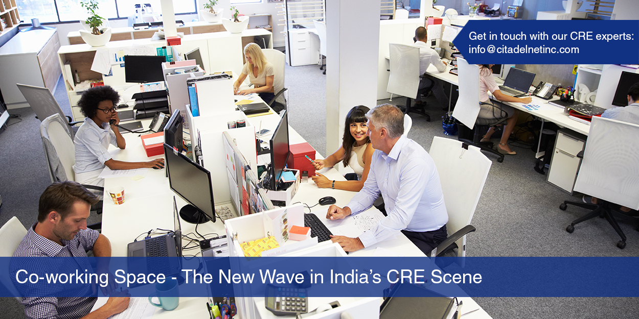 Co-working Space - The New Wave in India's CRE Scene