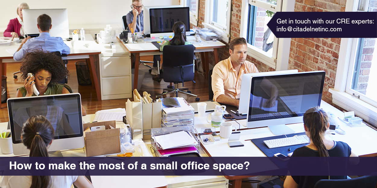 How to make the most of a small office space citadel blog - Making most of small spaces property ...
