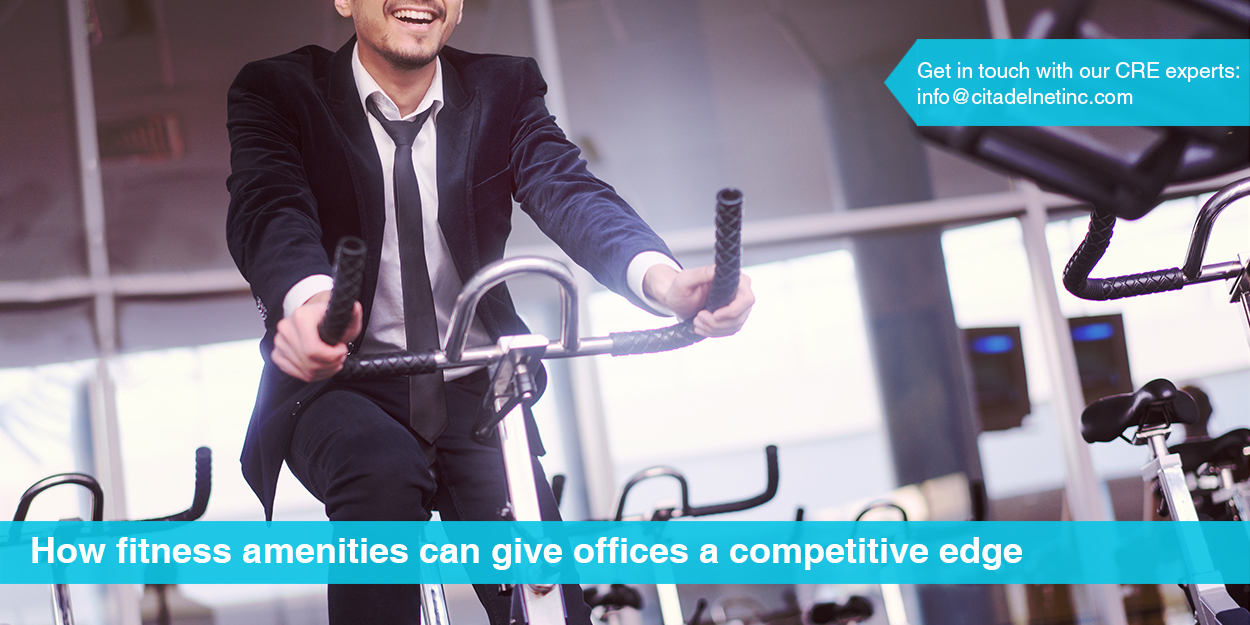How Fitness Amenities Can Give Offices a Competitive Edge