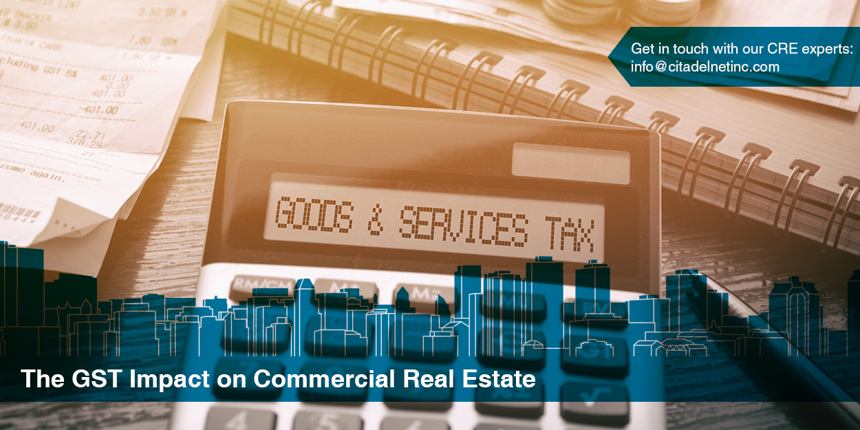 GST Impact on Commercial Real Estate
