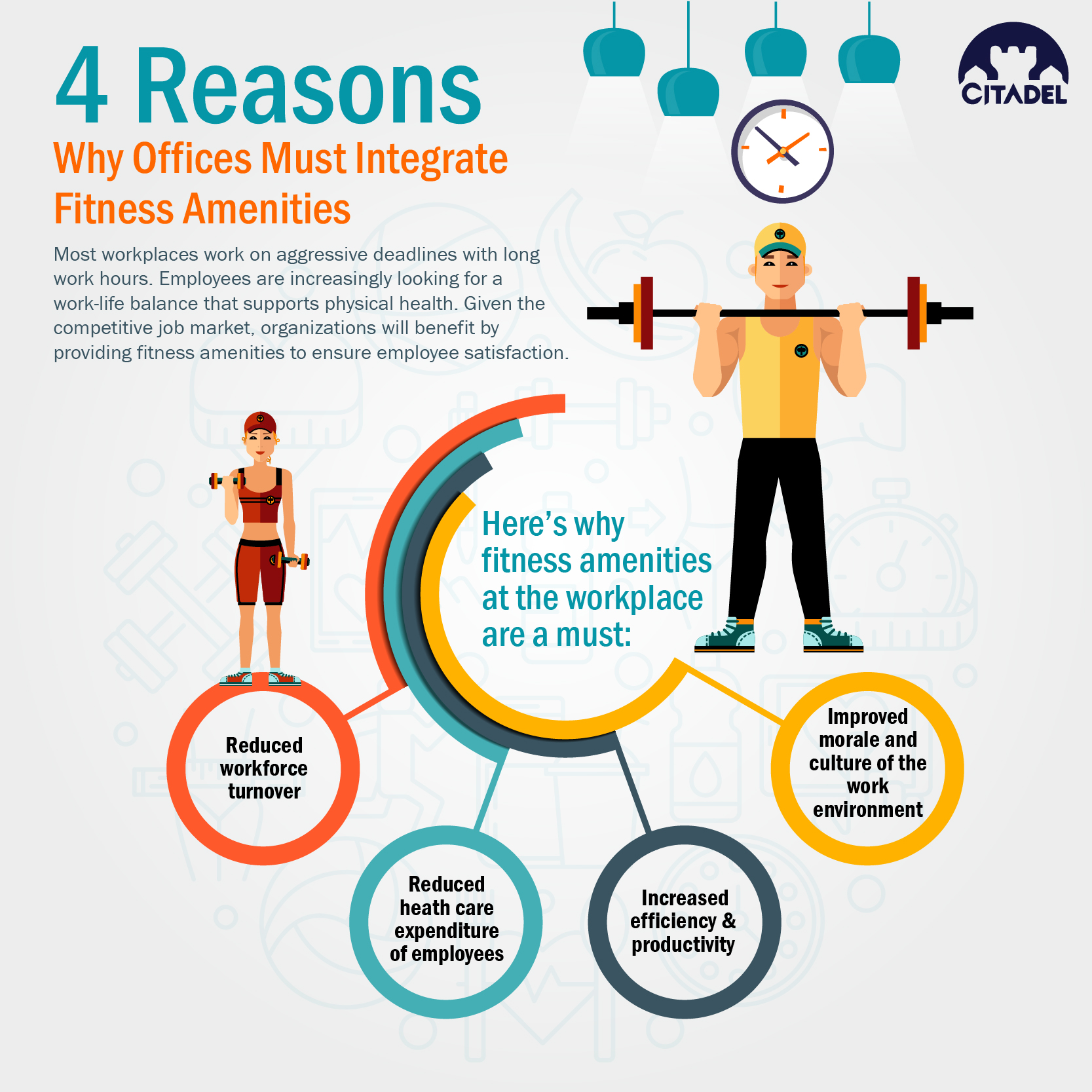 4 Reasons Why Offices Must Integrate Fitness Amenities