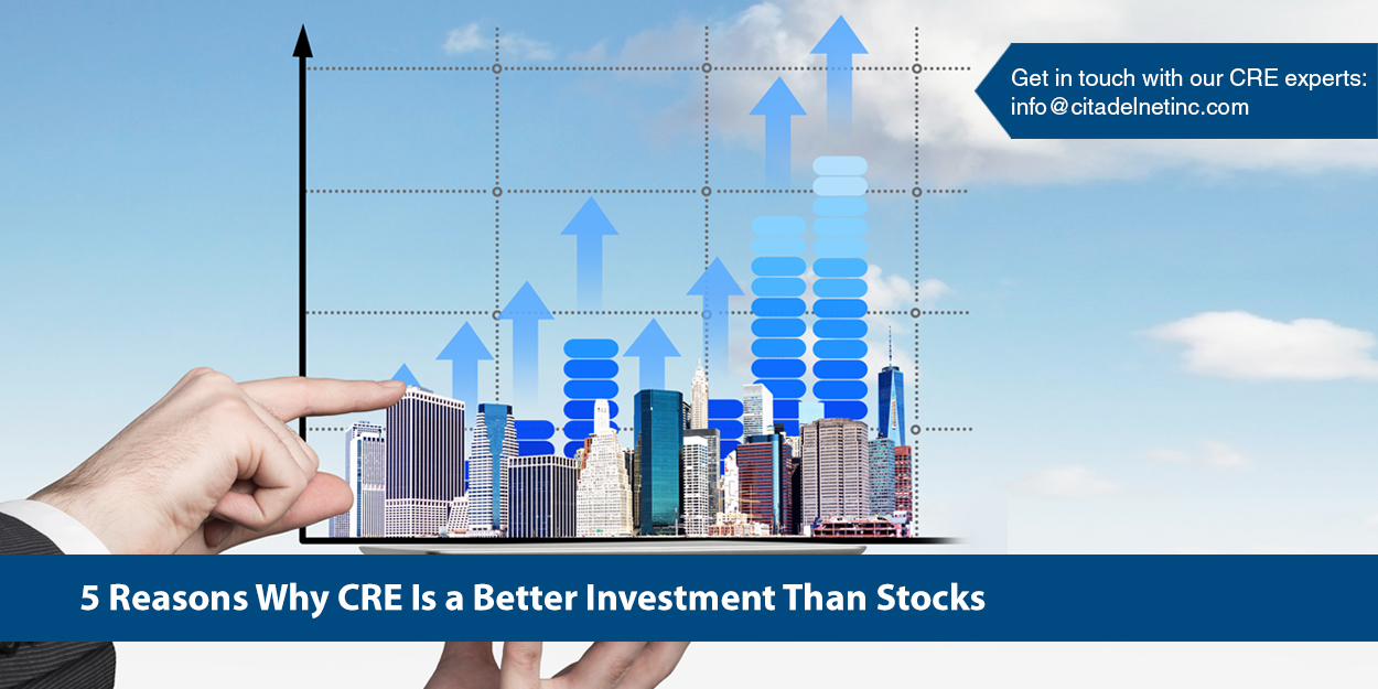 Which is a Better Investment CRE or Stocks