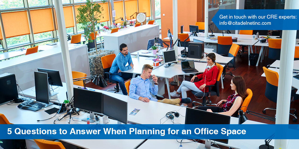 5 Questions for Your Business to Answer When Planning for Office Space