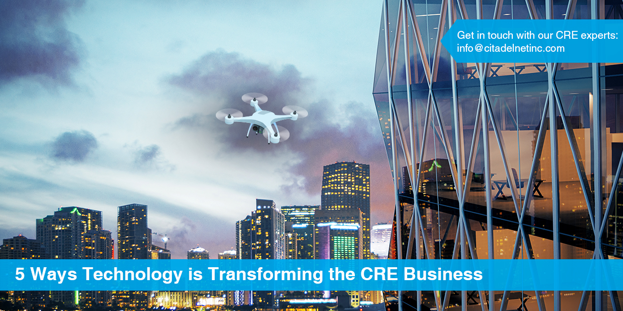5 ways technology is transforming CRE business