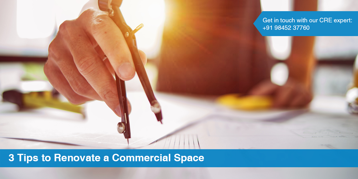 3 Tips to Renovate Commercial Space