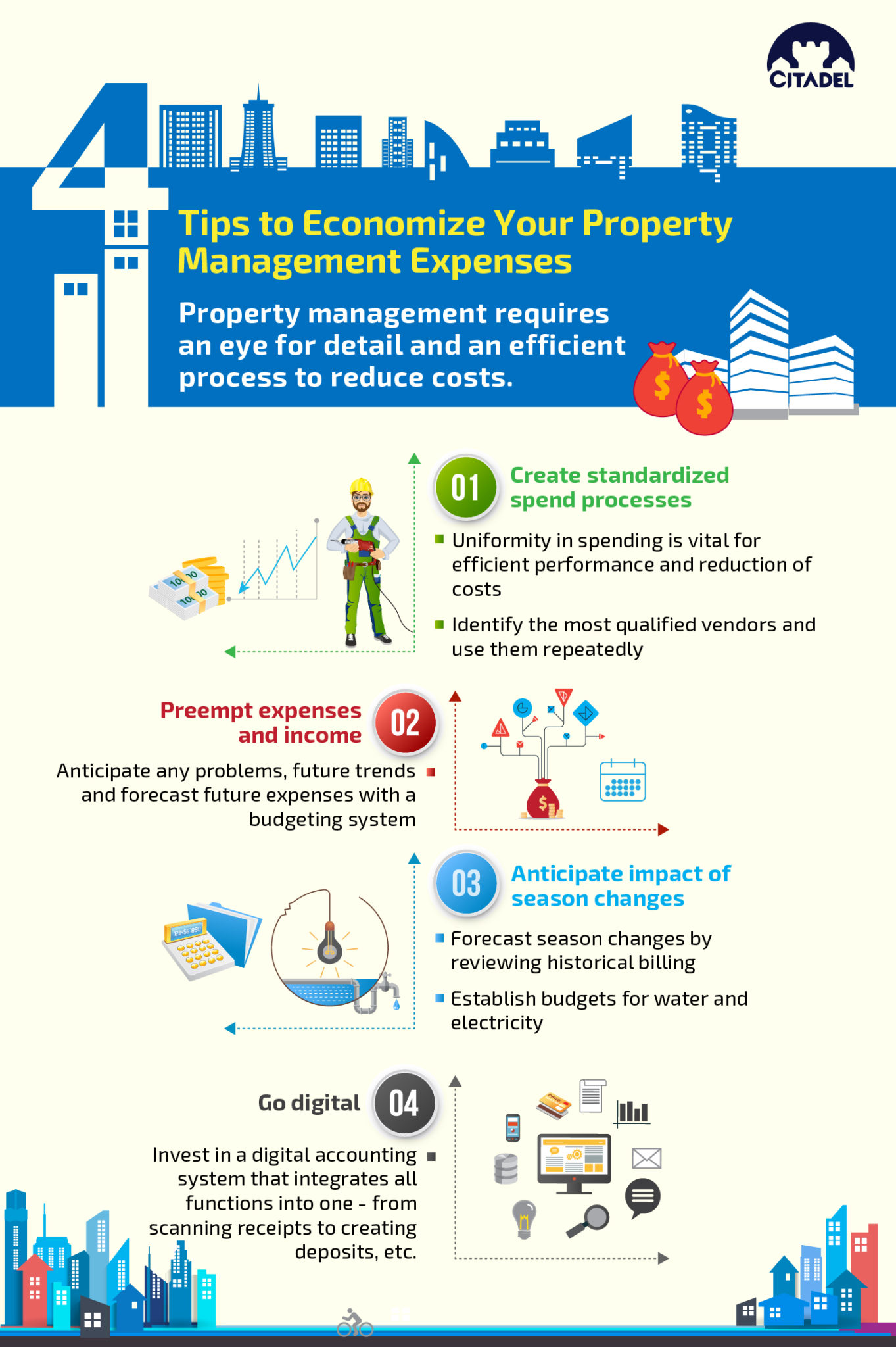 Tips to Economize Your Property Management Expenses